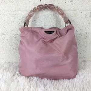 Authentic Christian Dior Pink? Small Bag ID RU1919
